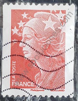 Marianne y Europa 2008 Francia sello sin valor facial