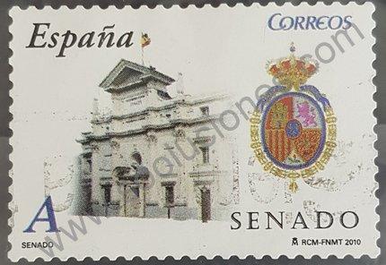 Sello el Senado España 2010 tarifa A