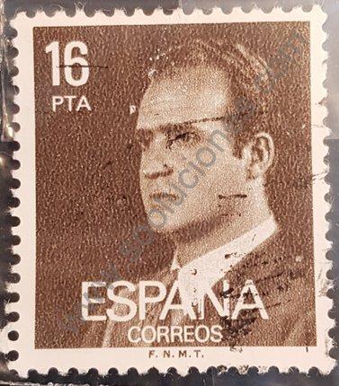 Sello España 16 Pta Rey Juan Carlos año 1980