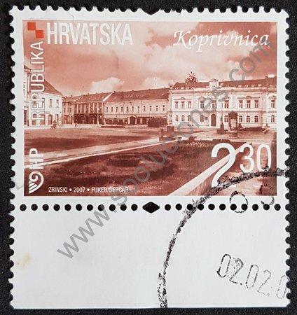 Koprivnica sello de Croacia año 2007