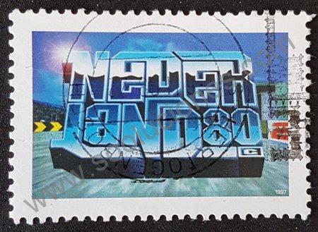 Holanda cultura joven sello de 1997
