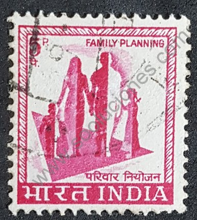 India sello de 1967 Planificación familiar