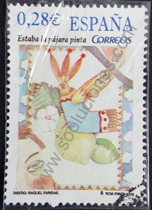 Estaba la pájara pinta Sello España 2005