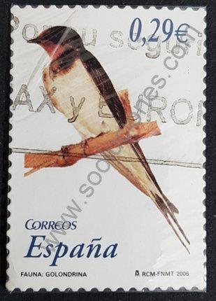 Sello Golondrina España 2006 valor 0,29€