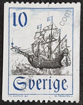 Sello barco Svent Skepp Suecia 1967