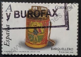 Sello España 2008 Barquillero de Juguete Valor facial «A»