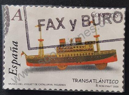 Sellos España 2008 Transatlántico