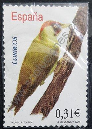 Sellos España Pájaro carpintero 2008 Pito real