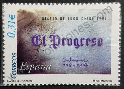 Diario El Progreso de Lugo Sello de España 2008