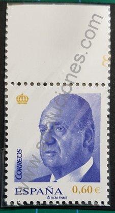 Sellos España 2008 Juan Carlos I valor 0,60€