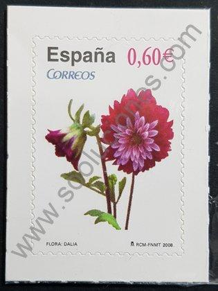 Sello de España 2008 Dalia