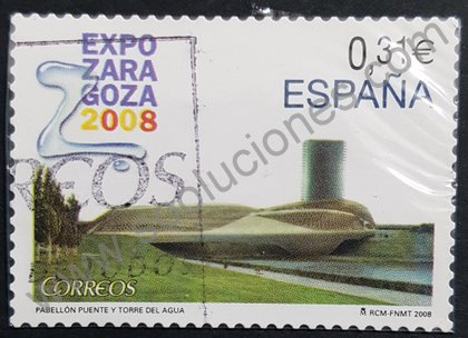 Expo 2008 Zaragoza sello España 2008