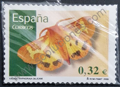Sellos España Mariposa Hyphoraia dejeani 2009