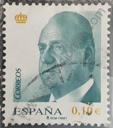 Serie básica España 2008 Rey Juan Carlos 0,10 €