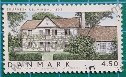 Sellos Dinamarca Casa en Virum 2004