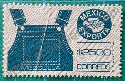 Sello México exporta 1991 valor $2500
