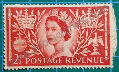 Coronación Elizabeth II Reino Unido 1953