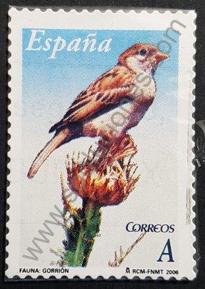 Sellos España 2006 Gorrión doméstico