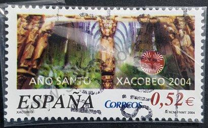 Sello España 2004 Xacobeo Año Santo Compostelano