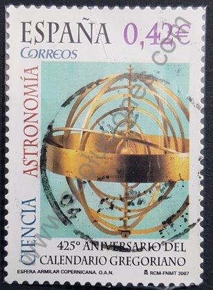 Sellos España 2007 Calendario Gregoriano 425 aniversario