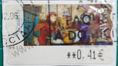 Etiqueta ATM España Igor Fomin 2005