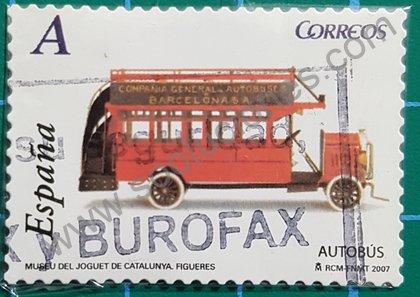 Sellos de 2007 España Juguetes Autobus 1915