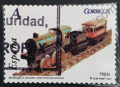 Sellos España 2007 Tren de 1921 - Juguete