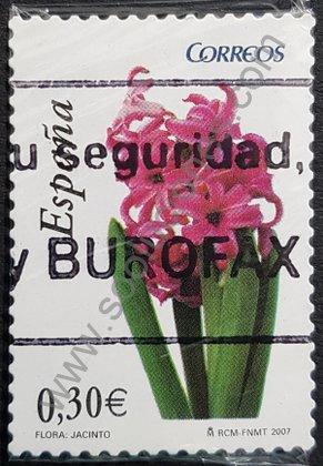 Sellos España 2007 Jacinto de la serie Flora y Fauna