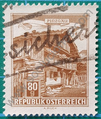Sello de 1962 Casa de Labranza - Austria