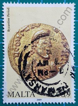 Sello de Malta 2015 Moneda Bizantina de oro