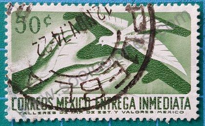 Sellos de México 1967 Manos y paloma