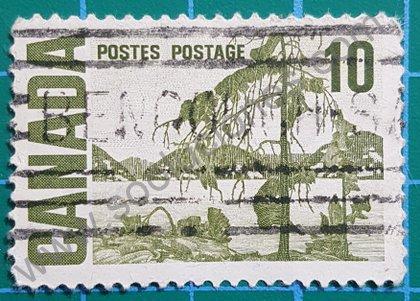 Sellos Canadá 1968 Paisaje valor 10 ¢