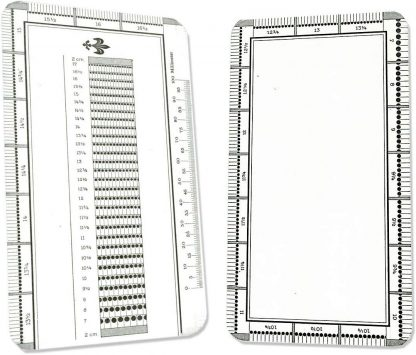 Prophila Perforation keymap for Stamp Determination