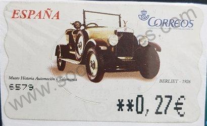 Sello ATM Berliet 1929 - España 2003