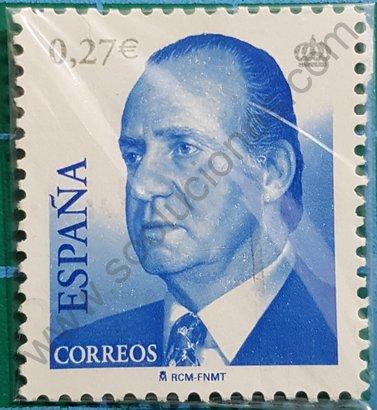 Sello 2004 Rey Juan Carlos España valor 0,27 €