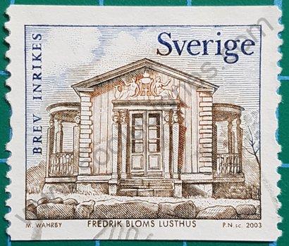Sello Suecia 2003 casa
