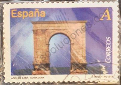 Sello Puerta de Bará Tarragona - España 2012