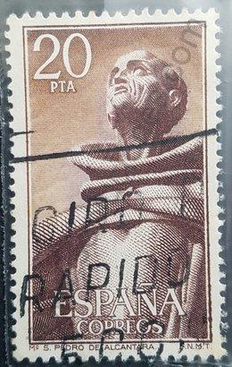 Sello España 1976 San Pedro de Alcántara