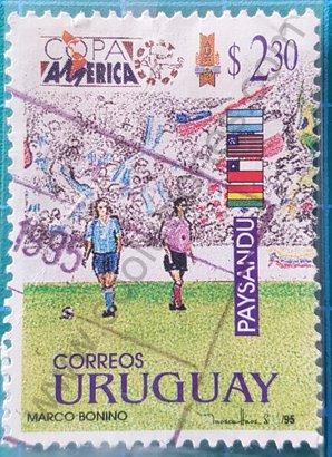 Sello Copa América 1995 - Uruguay