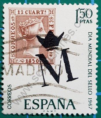 Sello Día mundial del Sello - España 1967