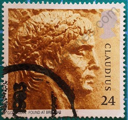 Sello Reino Unido 1993 Claudio Emperador 24 p