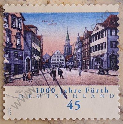 Sello Alemania 2007 Milenio de Fürth
