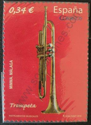 Sello España 2010 Trompeta