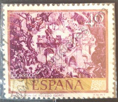 Sello España 1966 Memorias de Toledo