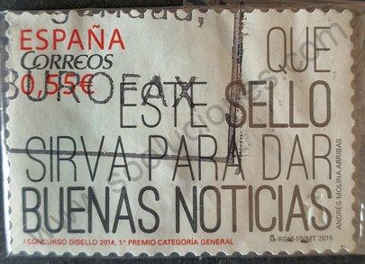Sello España 2015 Buenas nuevas