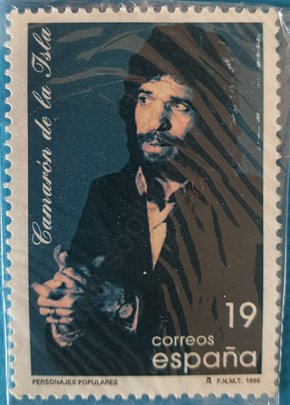 Sello Camarón de la Isla - España 1996