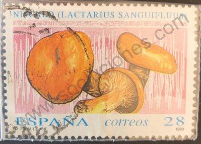 Sello España 1993 Niscalo - Lactarius sanguifluus
