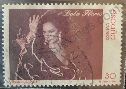 Sello Lola Flores - España 1996