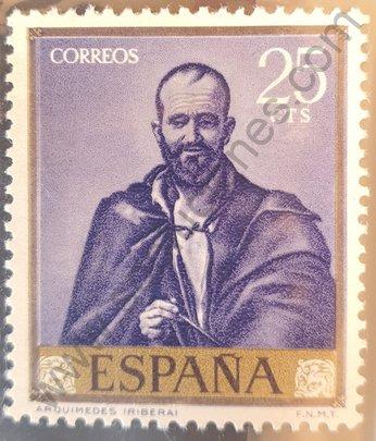 Sello España 1963 Arquímedes