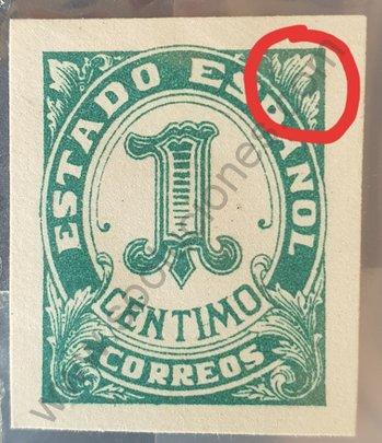 Sello España 1936 Número 1